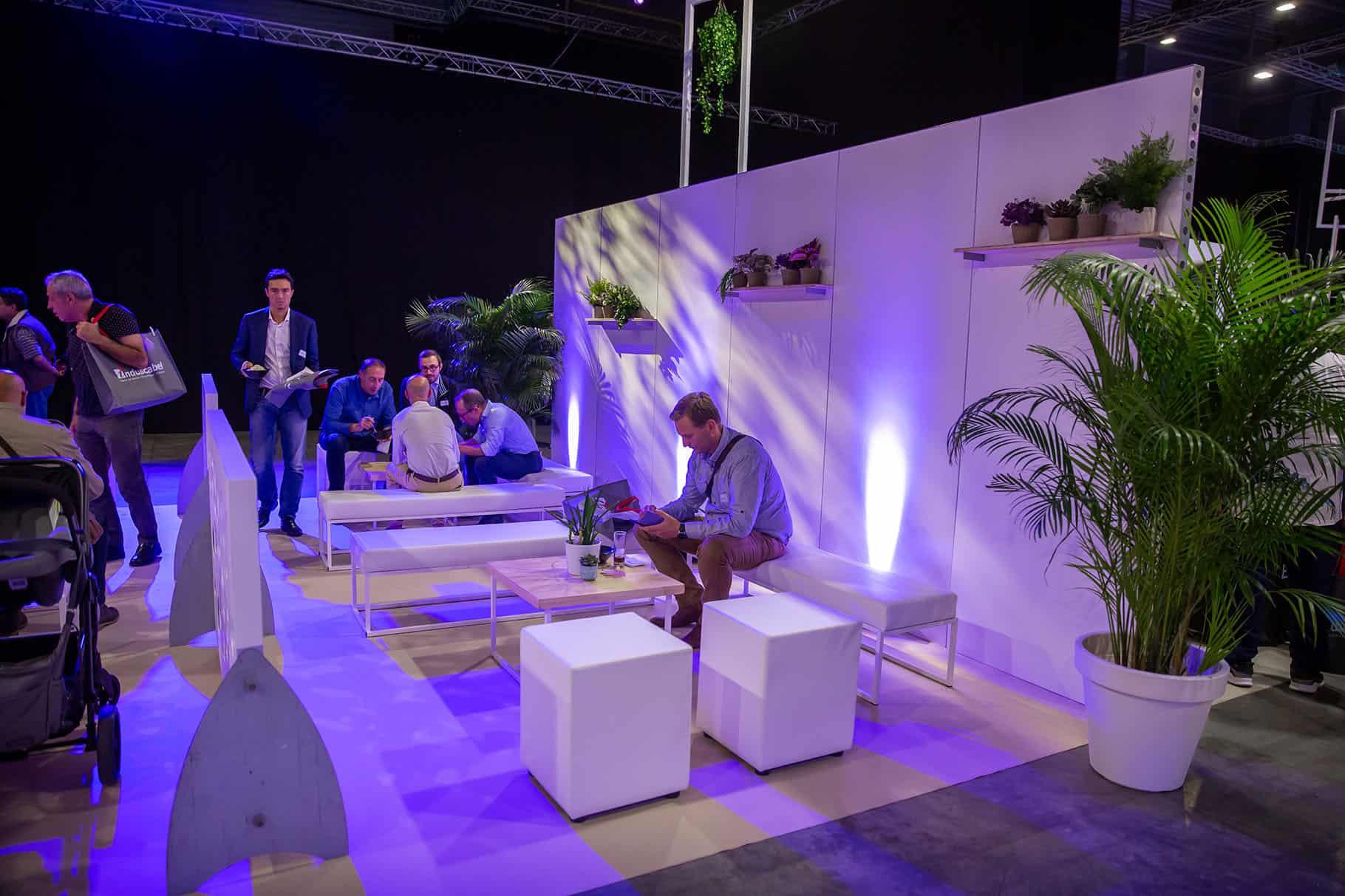 Projet mobilier scandinave blanc et bois