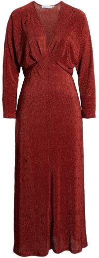 Alli in Favor textured dress | 40plusstyle.com