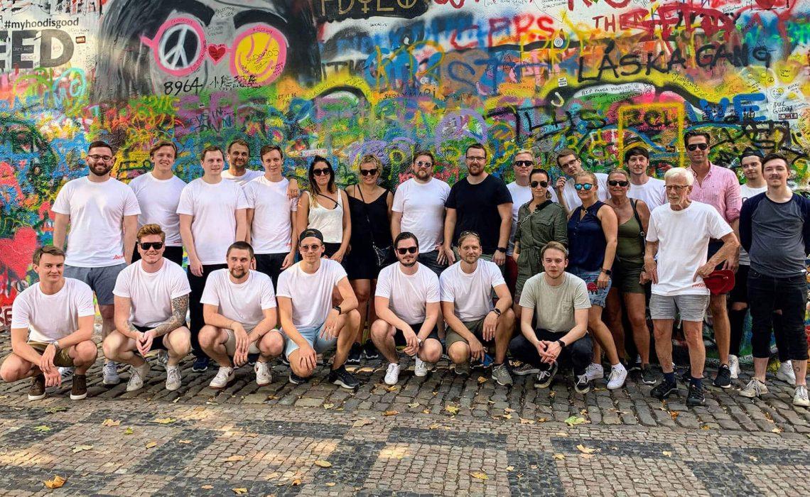 Ancon teamet i Prag