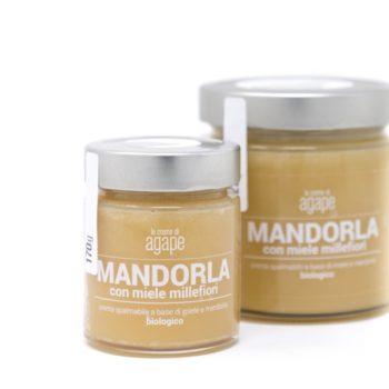 Crema di Mandorle con Miele Millefiori