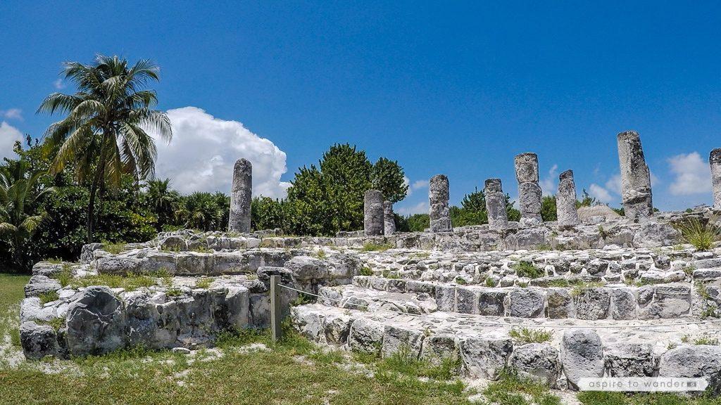 El Rey ruins, Cancun, Mexico