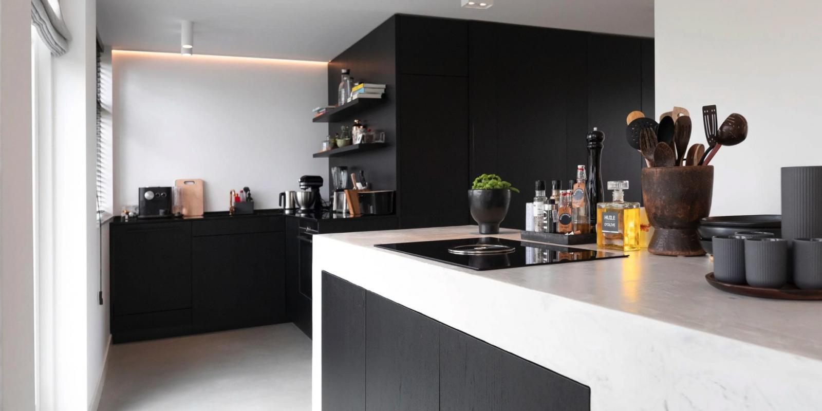 Keuken op maat met composiet look laten maken in Rotterdam