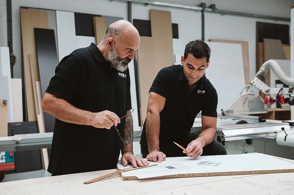 Keuken laten maken door rotterdamse atelier
