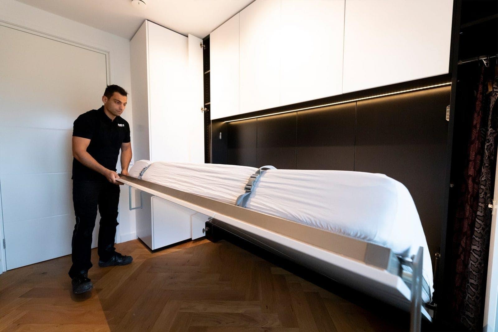 Atelier19 Inklapbed Kast Op Maat gemaakt door meubelmaker Zoetermeer