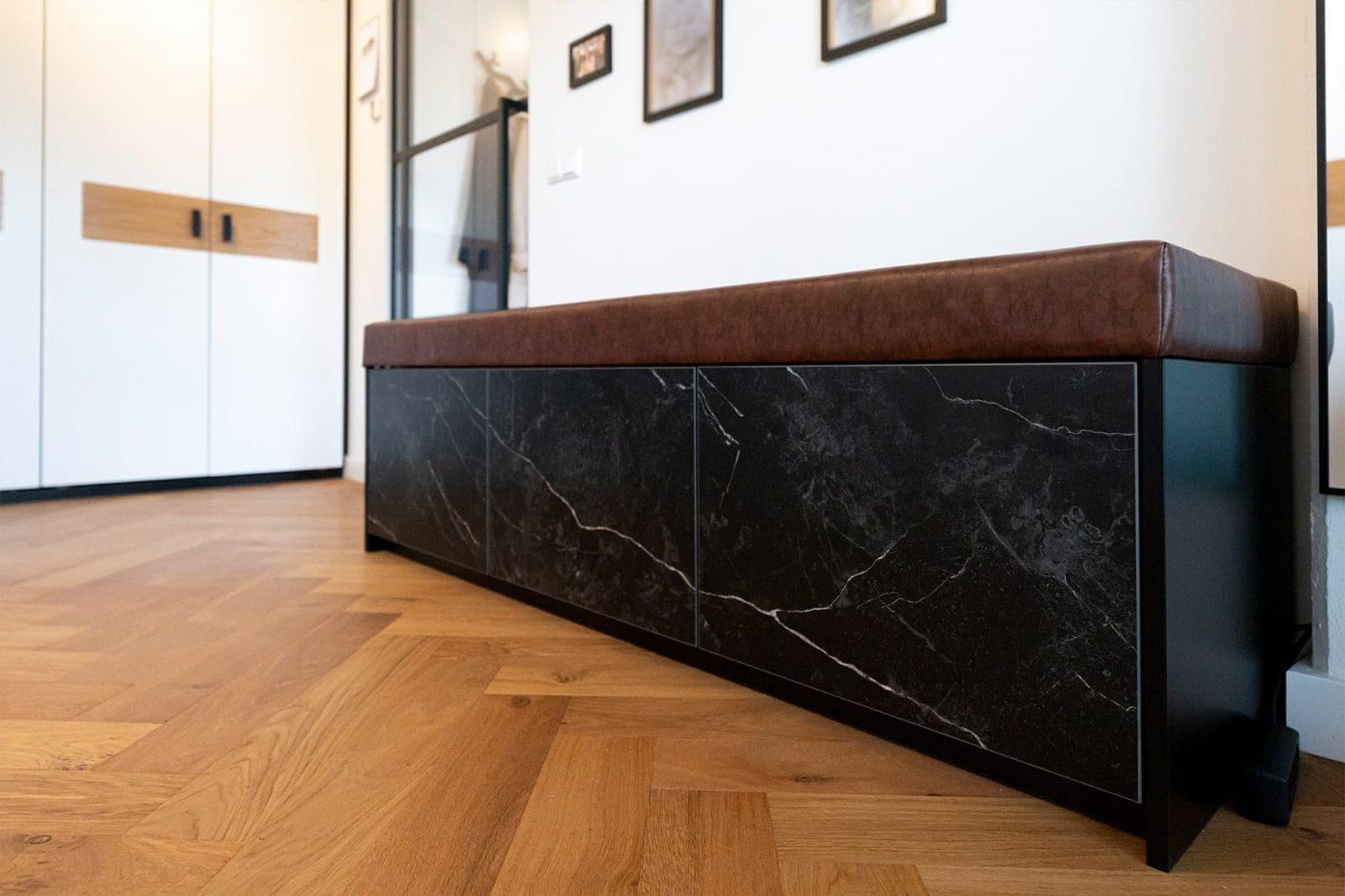 Atelier19 Schoenen Opbergkast Marmer op maat gemaakt door meubelmaker Spijkenisse