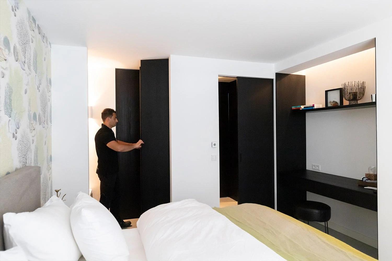 Garderobekast Slaapkamer Inklapbed In Garderobekast Op Maat Bergschenhoek