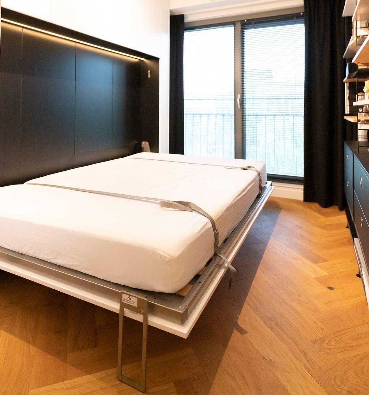 Interieurbouwer Papendrecht Hebben Een Inklapbaar Bed Gemaakt Voor Een Logeerkamer