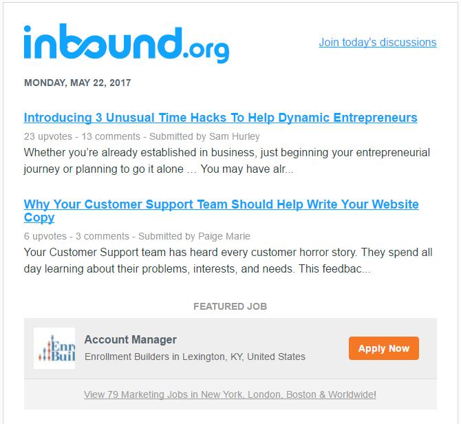 inbound header first articles