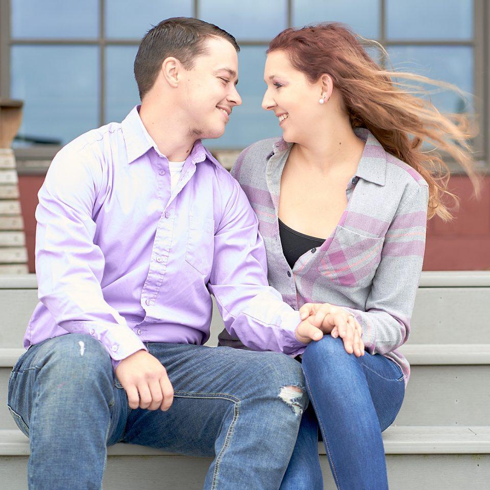 Chicago Engagement Photographer | Evan Carter and Toni Huff Engagement Shoot - Peck Farm