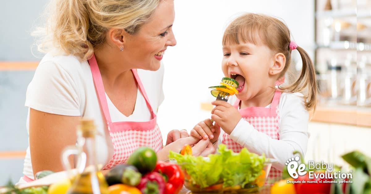 Guía de la comida vegetariana para niños 2017 - Tipos