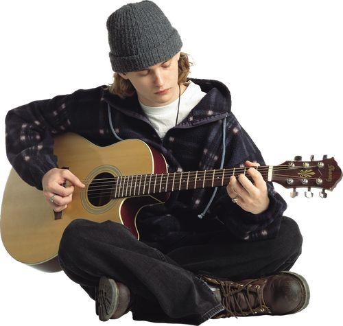 Мужской вокал под гитару
