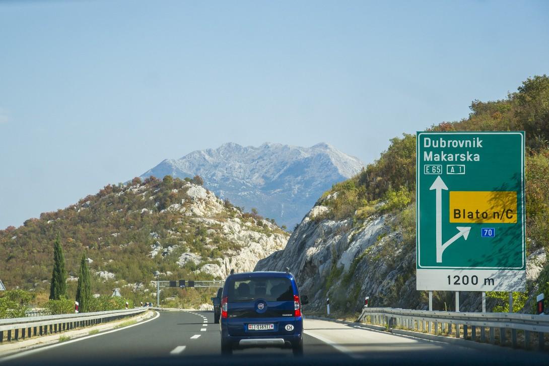 Trasa do Dubrovnika autostopem