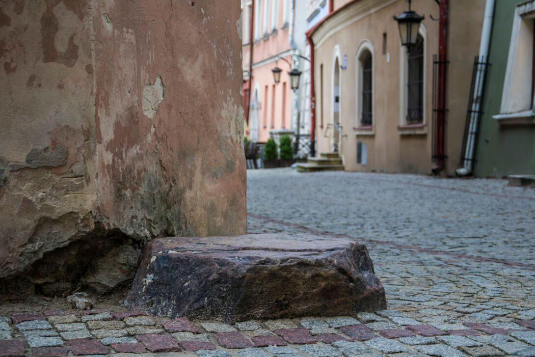 Kamień Nieszczęścia w Lublinie