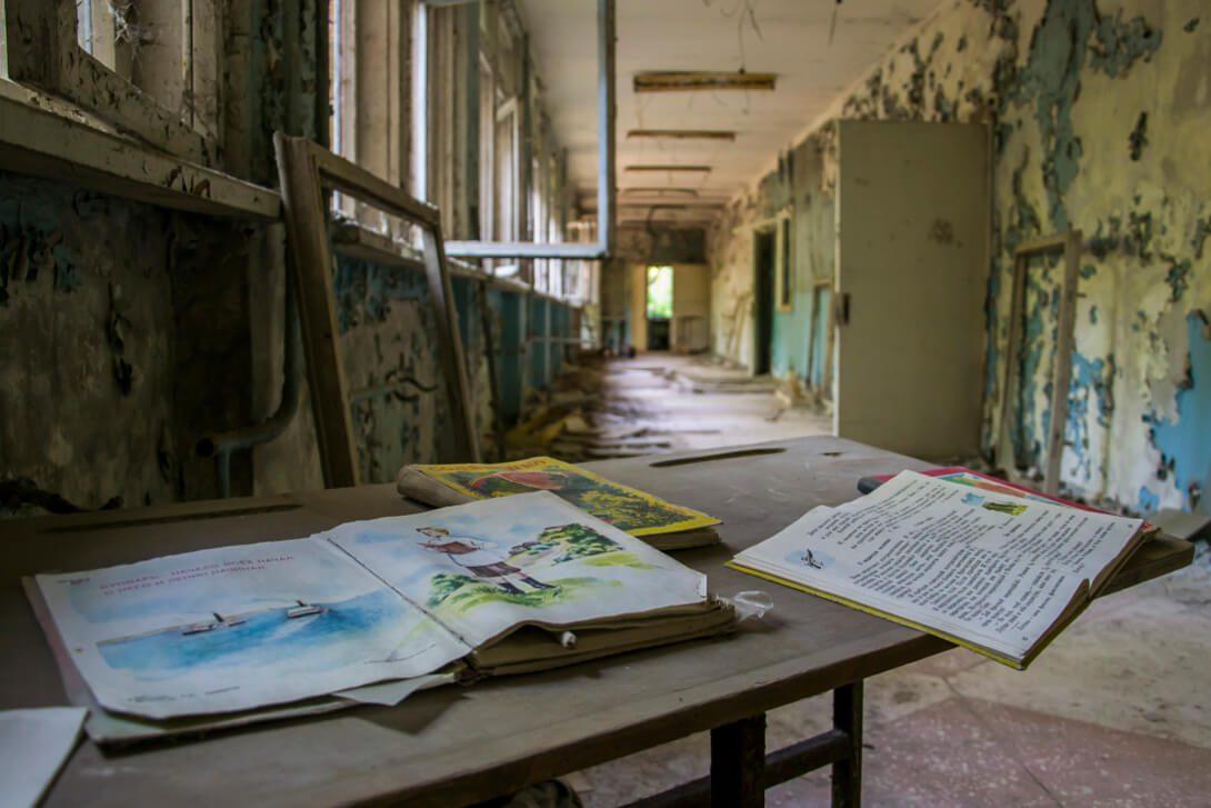 Opuszczona szkoła w Prypeci