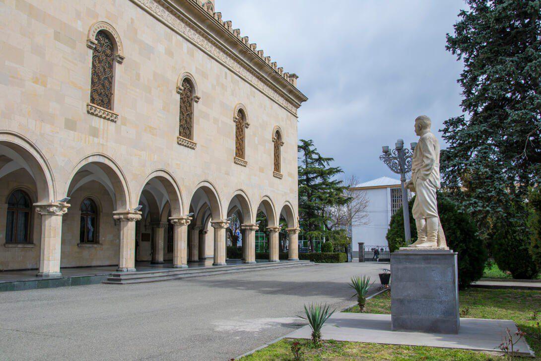 Wejście do Muzeum Stalina w Gori