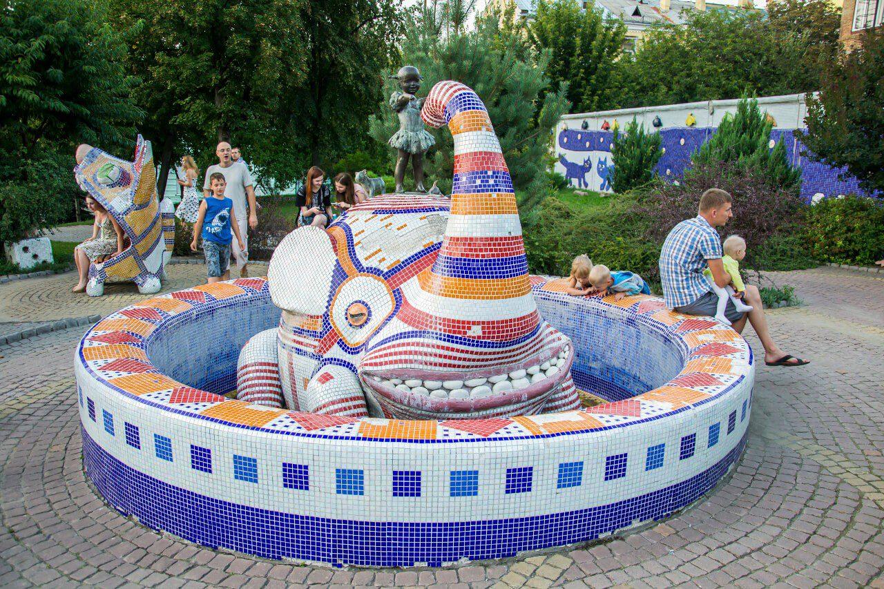 Aleja Pejzażowa w Kijowie