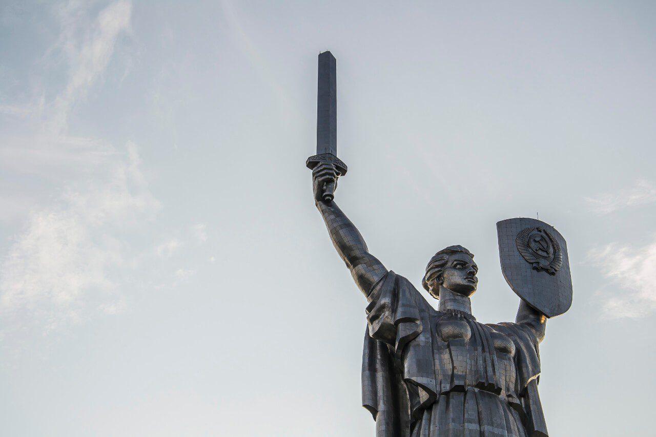 Zwiedzanie Kijowa - Pomnik Matka Ojczyzna w Kijowie