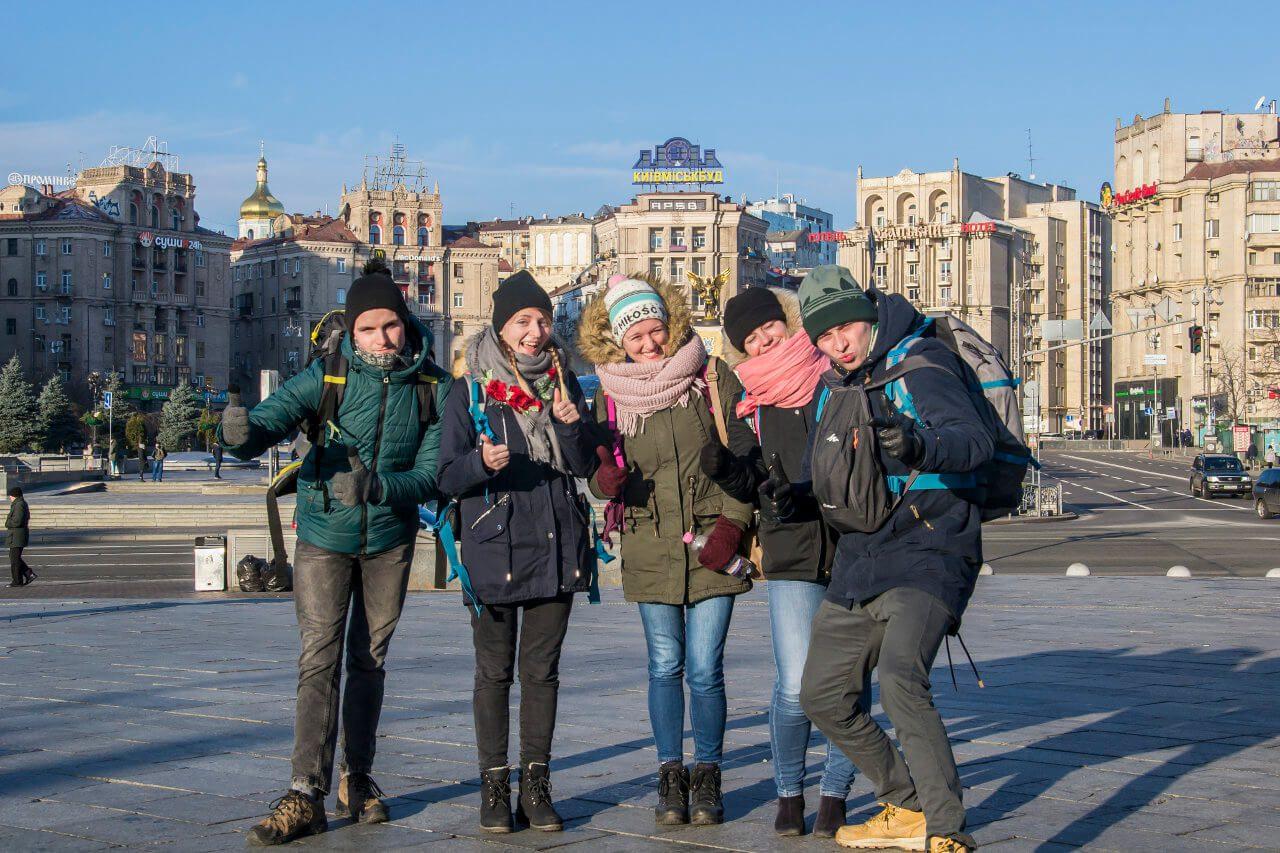 Sylwestrowo-noworoczna ekipa wyjazdowa w Kijowie