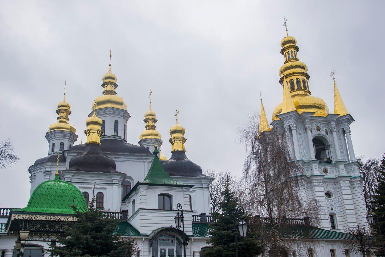 Zwiedzanie Kijowa - Cerkwie na Ławrze Peczerskiej w Kijowie