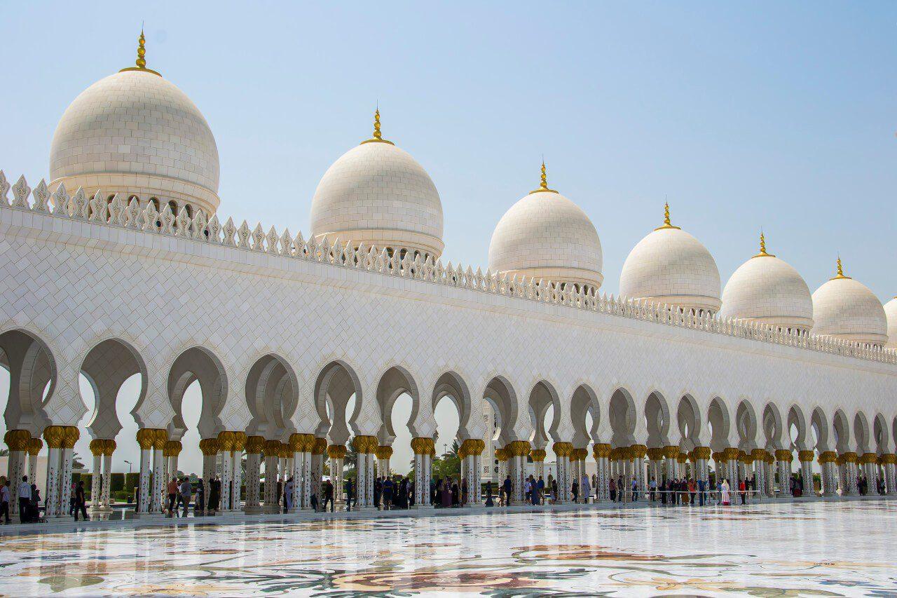 Dziedziniec Wielkiego Meczetu