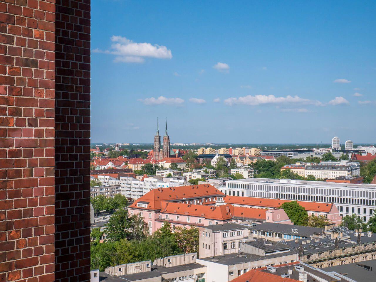 Katedra św. Jana Chrzciciela widziana z Mostku Pokutnic