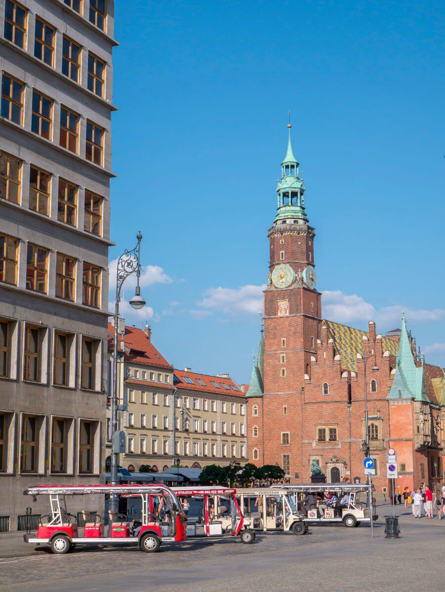 Wrocław w jeden dzień - wieża Starego Ratusza we Wrocławiu