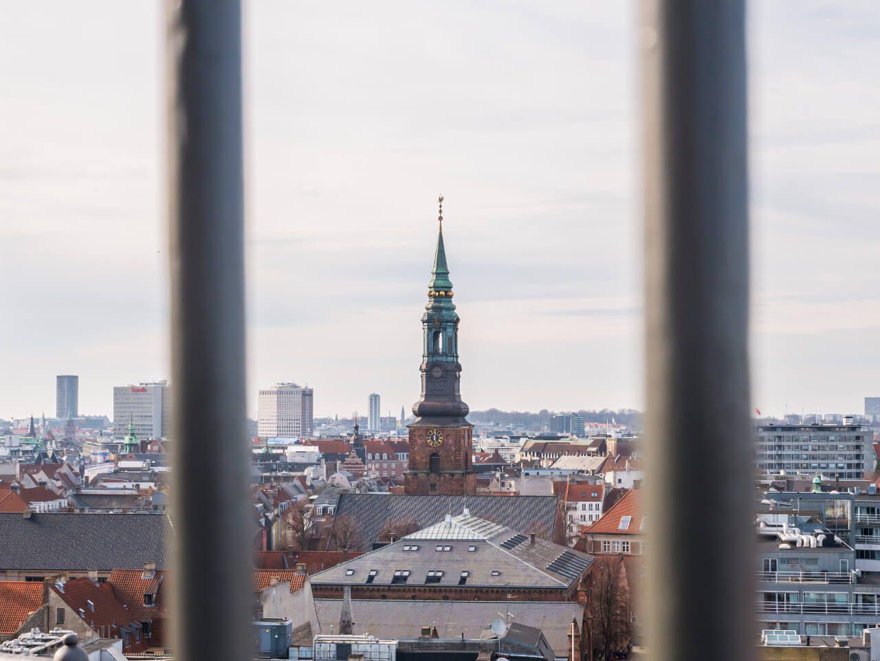 Widok z wieży Rundetaarn