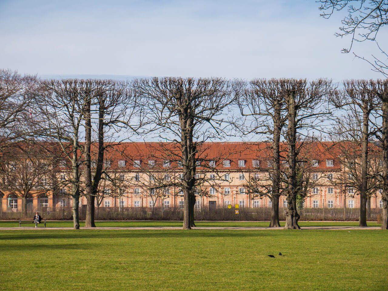 Park w okolicach pałacu Rosenborg