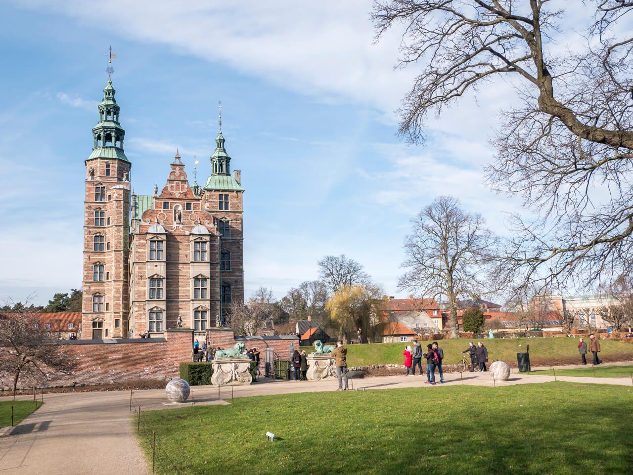 Pałac Rosenborg widziany z Ogrodu Króla