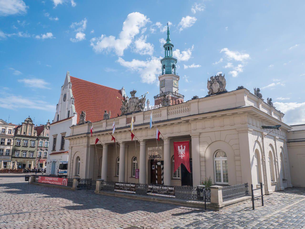 Muzeum Powstania Wielkopolskiego 1918-1919 w budynku wartowni w Poznaniu