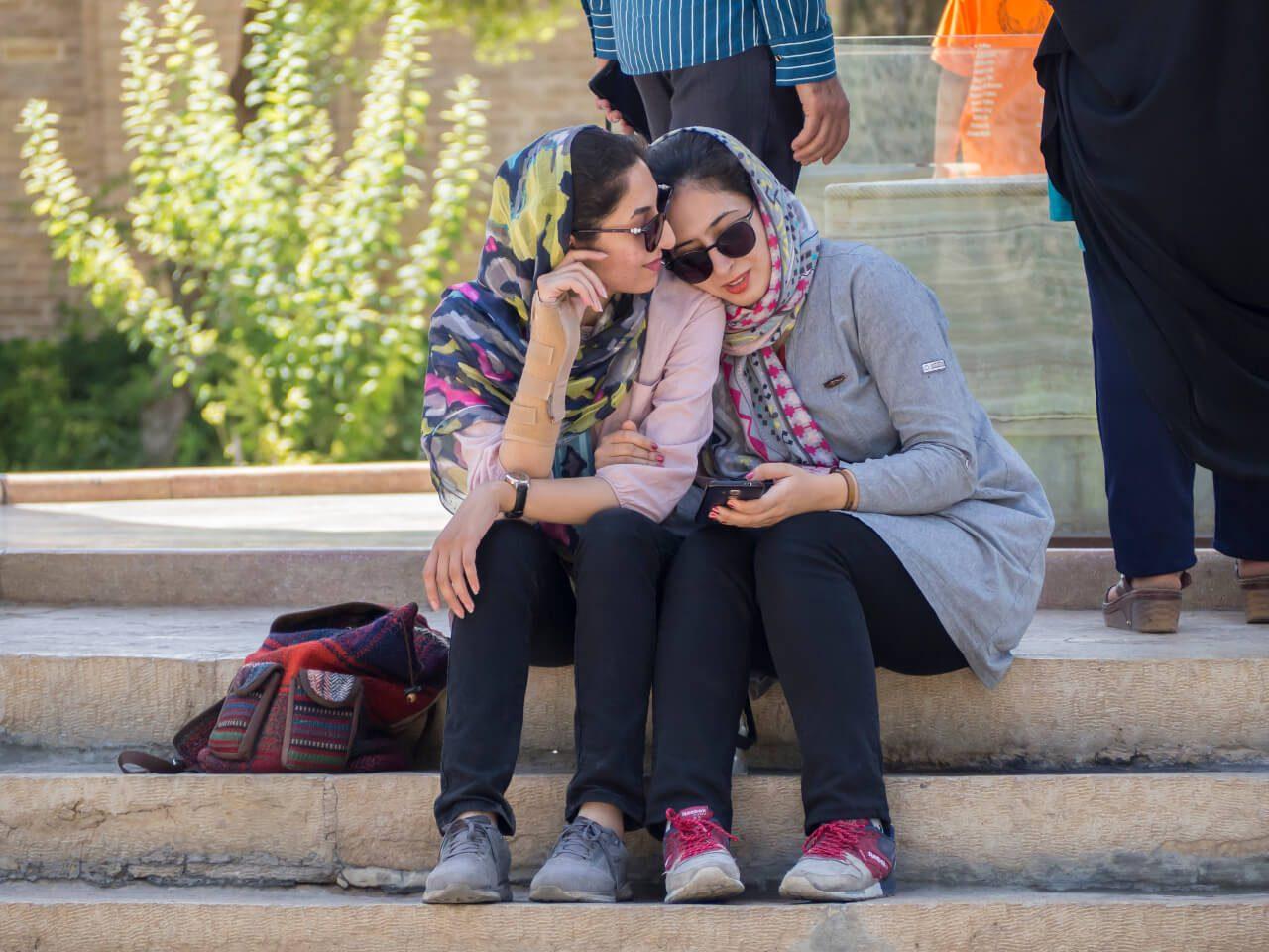 Irańskie kobiety - zwiedzanie Iranu