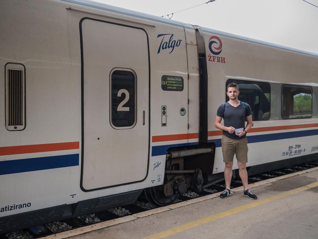 Pociąg z Sarajewa do Mostaru