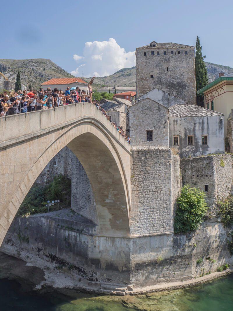 Sklepienie Starego Mostu, Mostar