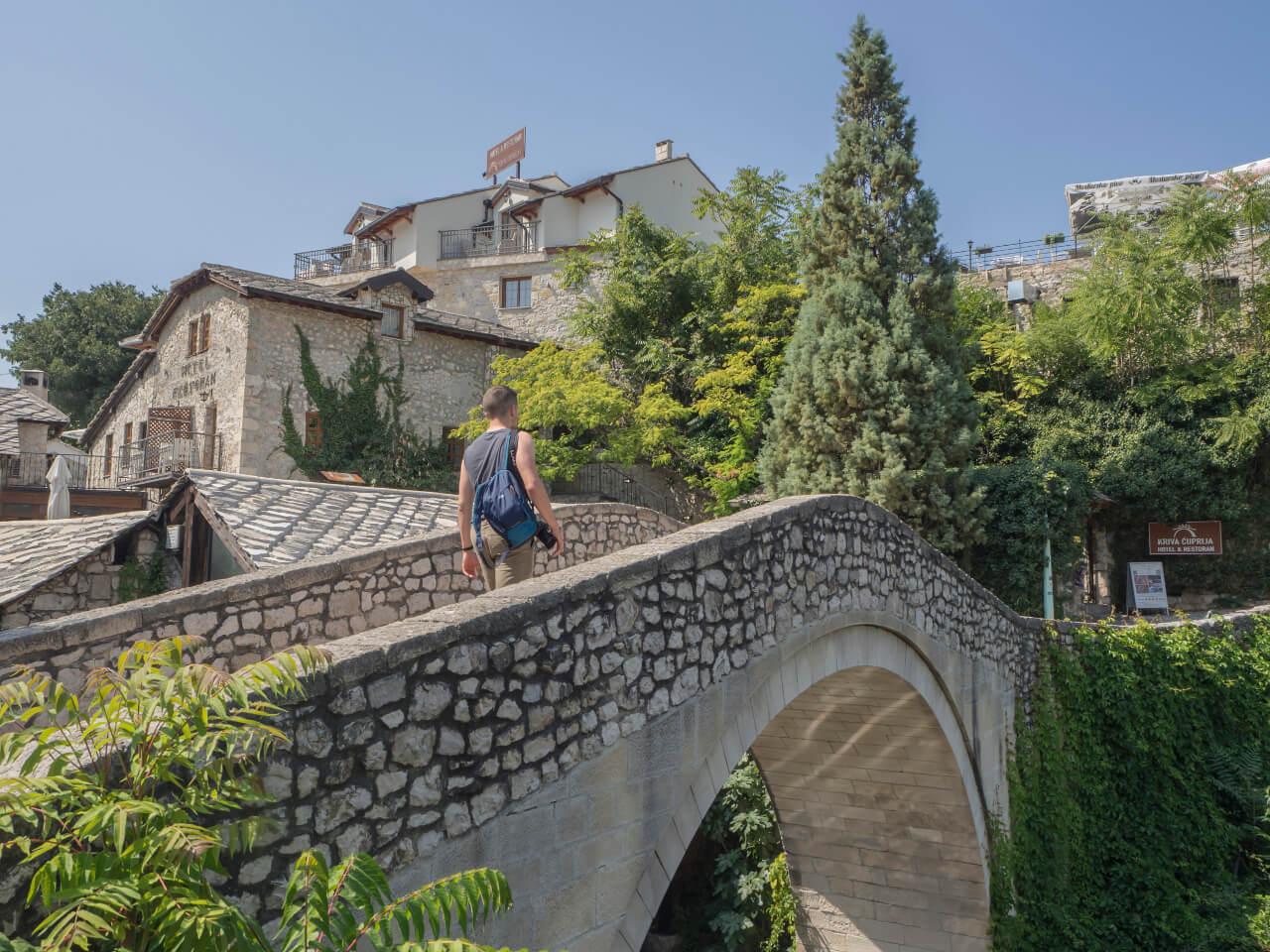 Most Kriva Cuprija,, Mostar