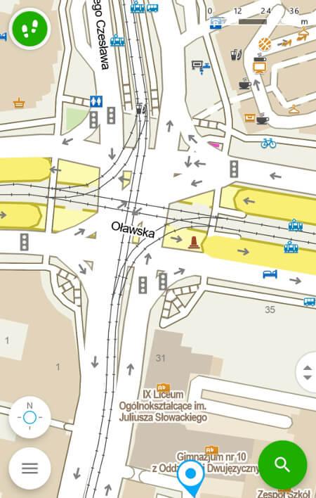 Aplikacje dla podróżników - screen z Windy Maps #1