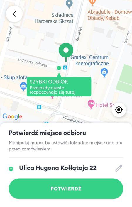 Aplikacje dla podróżników - screen z Bolt #3