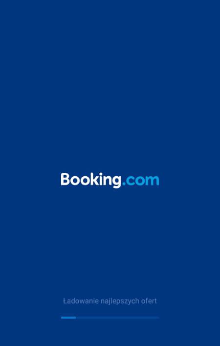 Aplikacje dla podróżników - screen z Booking.com #1