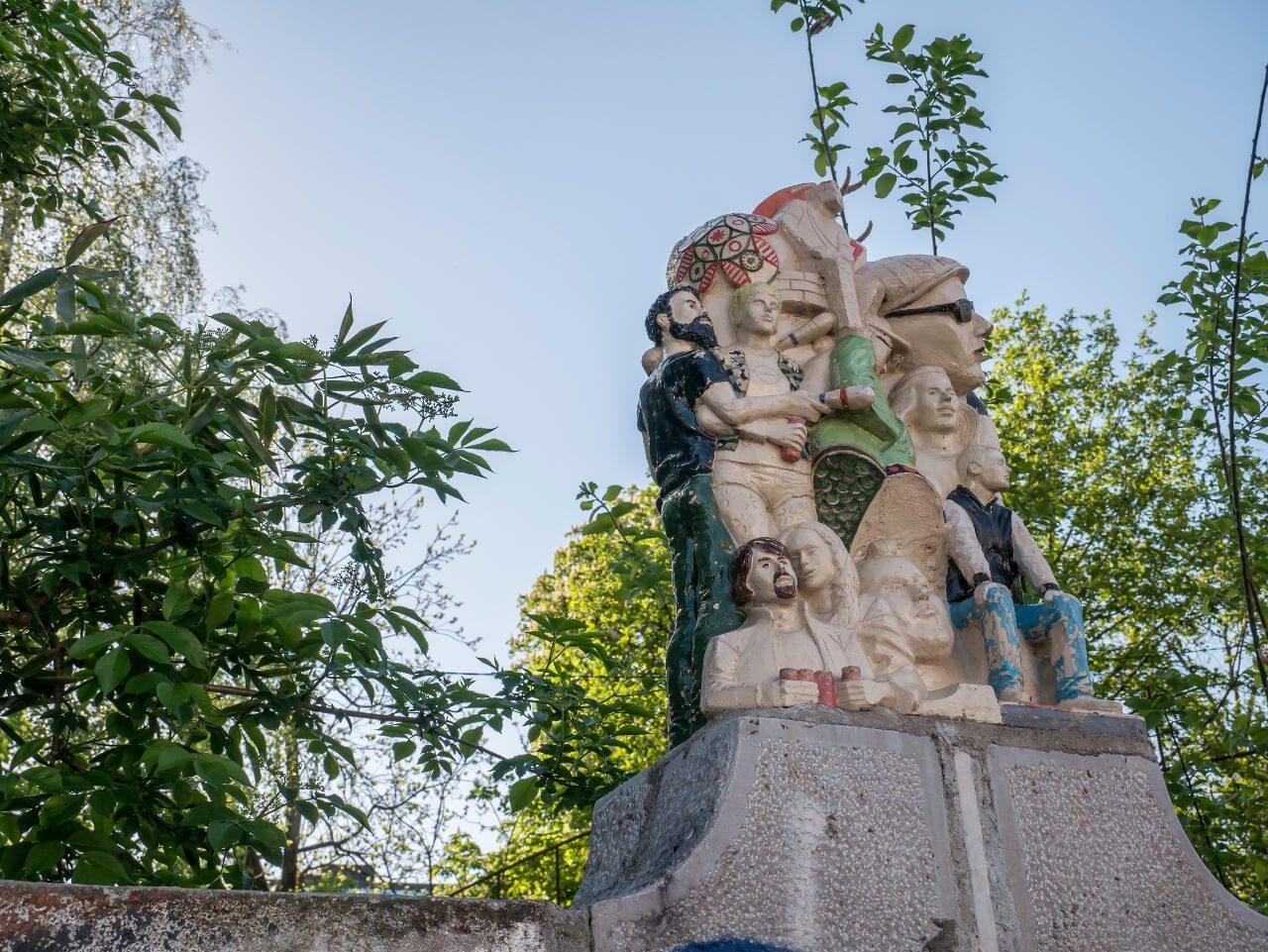 Rzeźba w Metelkova (Lublana)