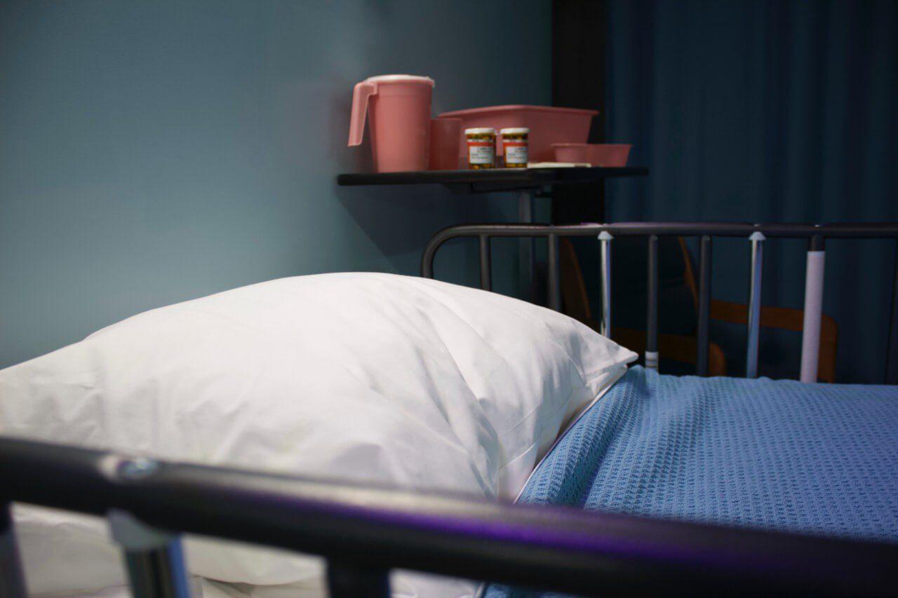 Łóżko w szpitalu