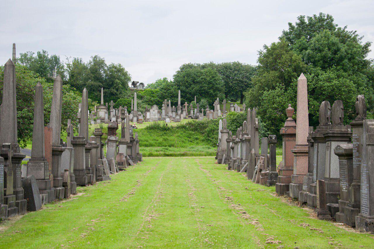 Cmentarz w Glasgow