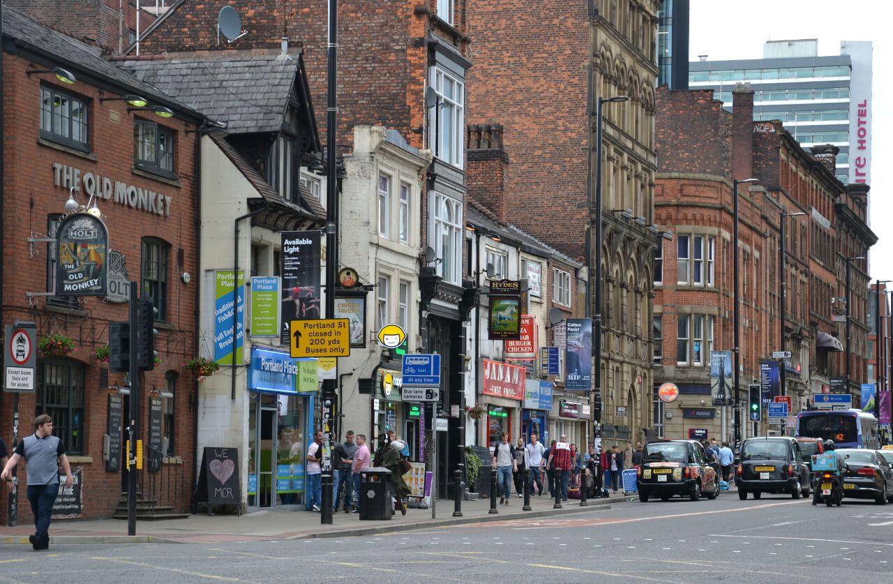 Ulica w Manchester