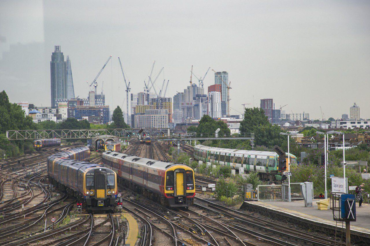 Stacja Clapham Junction w Londynie