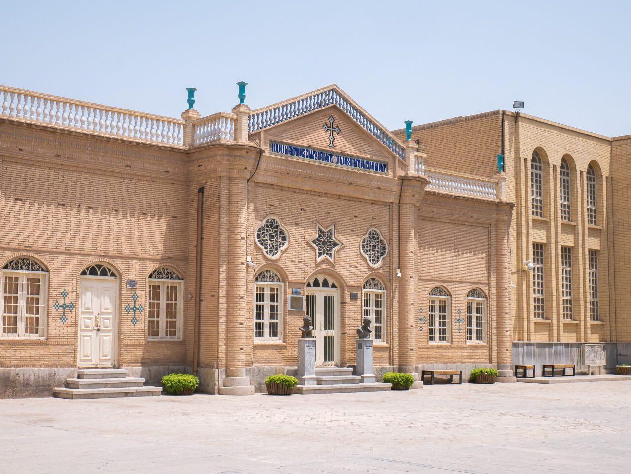 Ormiańskie budynki przy katedrze Vank