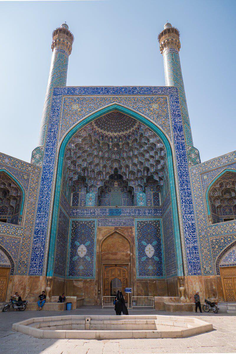 Ejwan Meczetu Królewskiego w Isfahanie