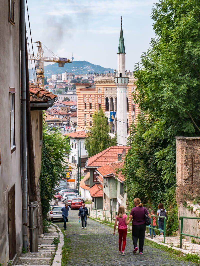 Ratusz w Sarajewie