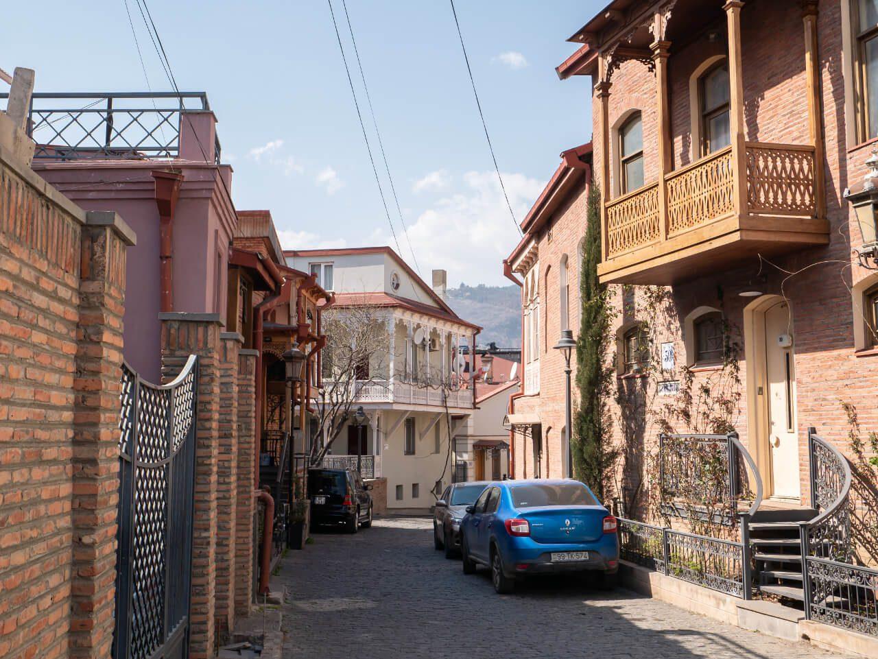 Uliczka dzielnicy Betlemi w Tbilisi