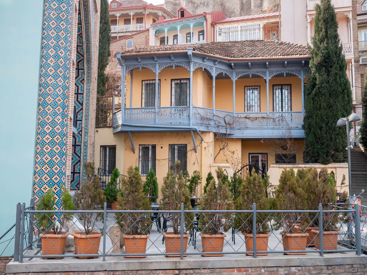Stare Miasto (Abanotubani) w Tbilisi