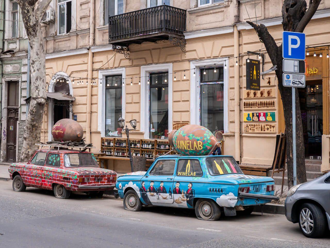 Ulica w Tbilisi
