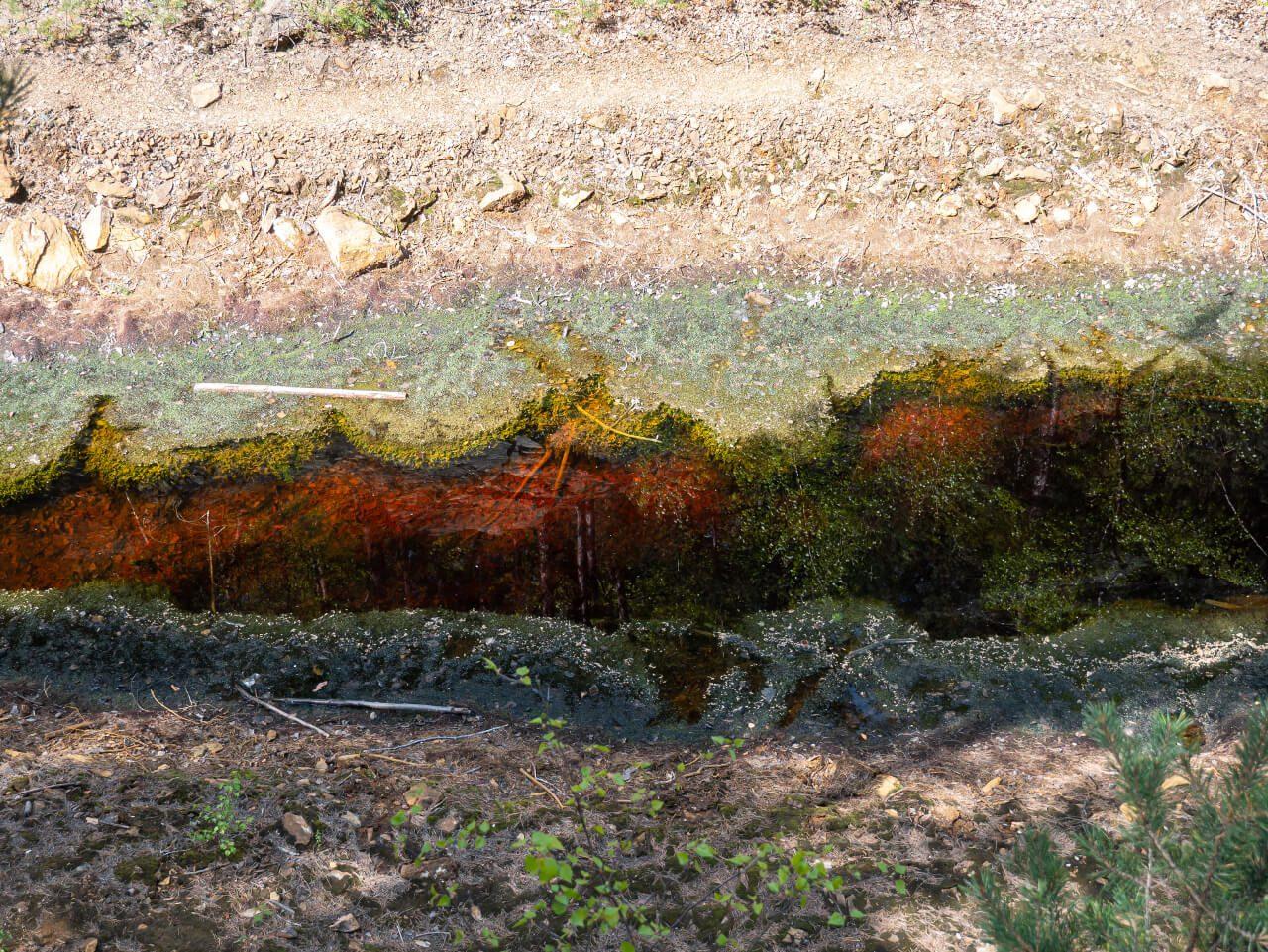potok do czerwonego jeziorka rudawy janowickie