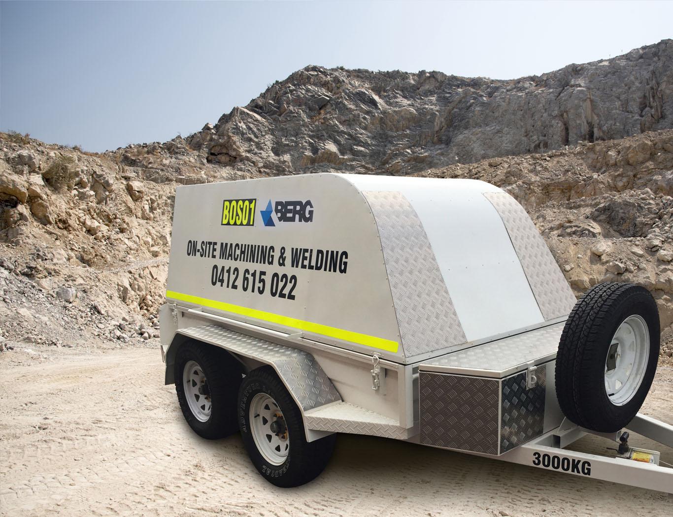 Berg Engineering - Onsite Maching 6